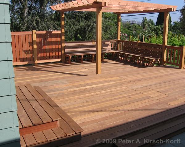Los Angeles Wood Decks Decking Beautiful Custom