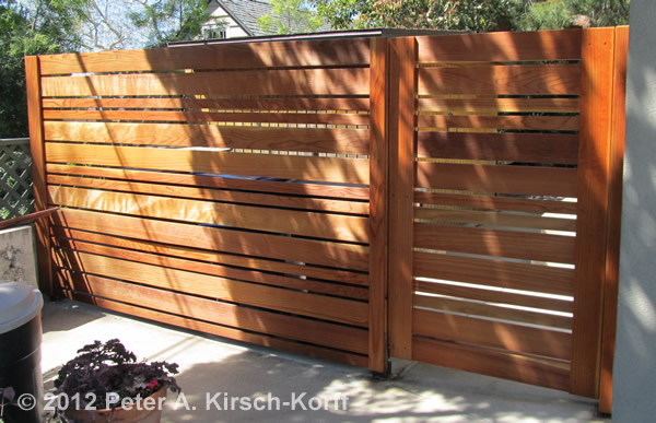 Los angeles wood fences privacy screening beautiful