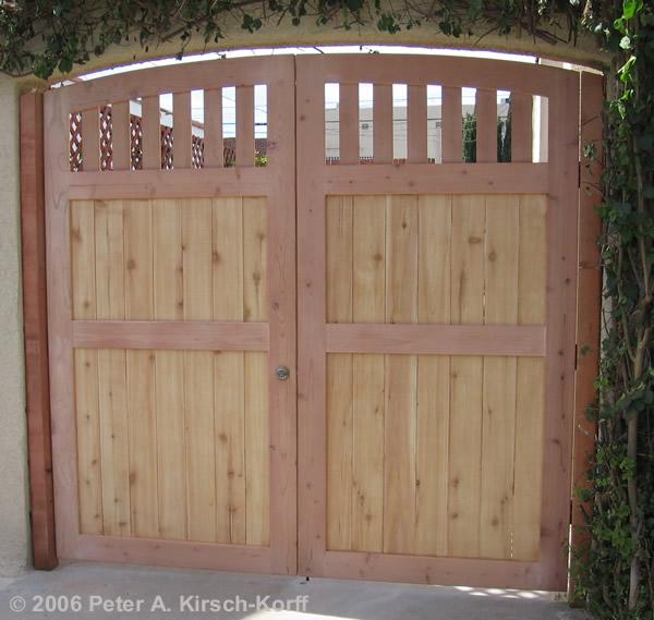 Driveway Door & Los Angeles; 12: Swing Driveway Gate