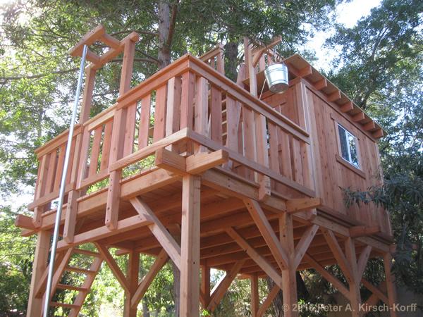 Greene Amp Greene Inspired Redwood Tree House With