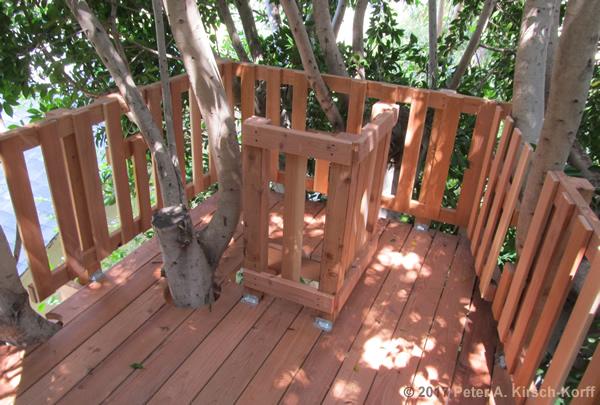 Double Decker Treehouse Hidden In Trees West La Ca